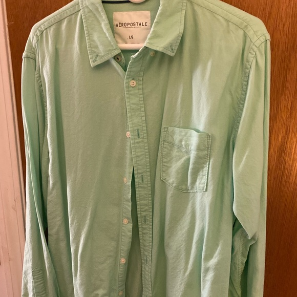 Aeropostale Other - Teal colored button down